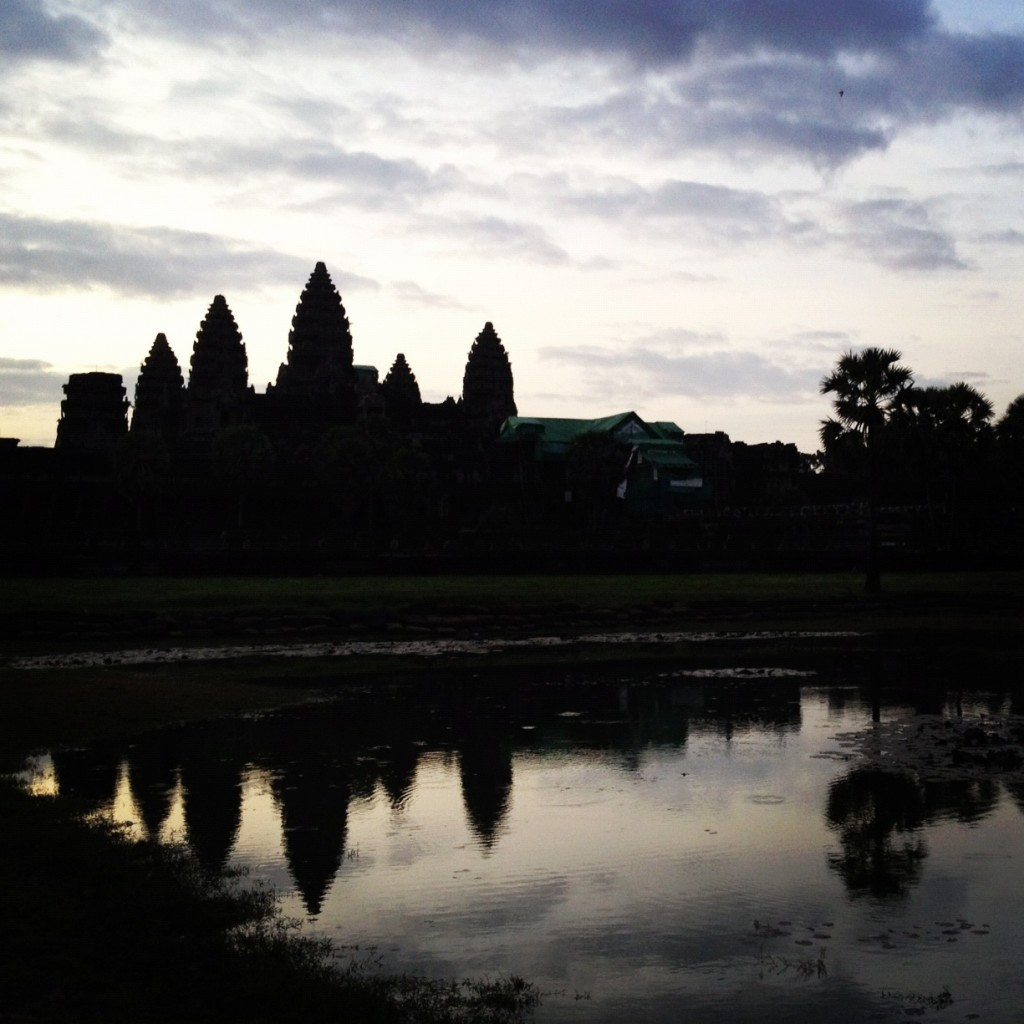 Angkor Wat at sunrise - a must-see