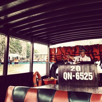 Our captain, Halong Bay, Vietnam