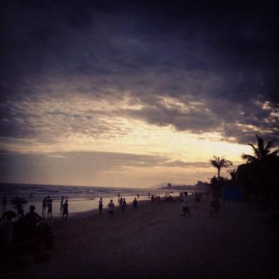 Sunset on Hainan Island