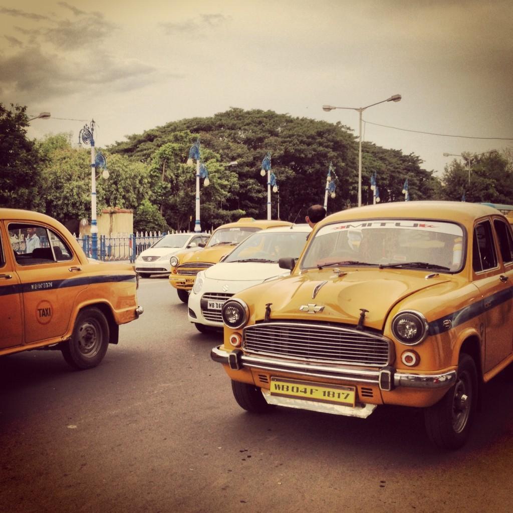 Kolkata's classic yellow taxis
