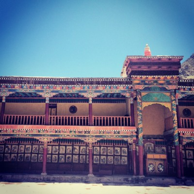 The Thiksey Monastery