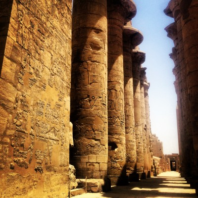 Karnak Temple, site of scenes in The Mummy Returns and The Transformers