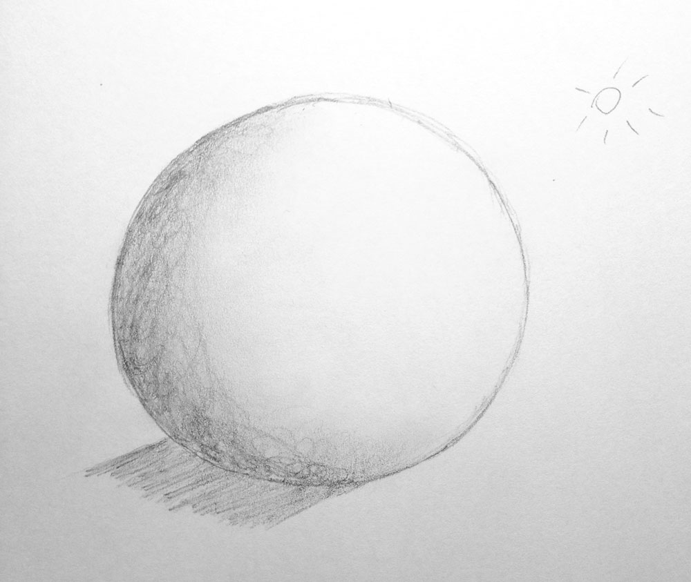 Day #7: Lesson 1 of Mark Kistler's 'You Can Learn To Draw In 30 Days'